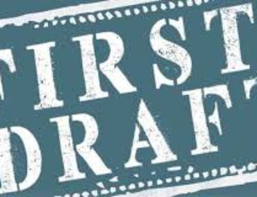 How to guarantee progress on your first draft…